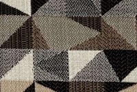 Outdura 8803 GEO CARBON Geometric Indoor Outdoor Upholstery And Drapery Fabric