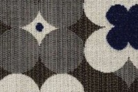 Outdura 7500 POPPY MIDNIGHT Floral Indoor Outdoor Upholstery And Drapery Fabric