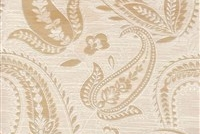 6798813 SIVAS PEARL Paisley Damask Upholstery And Drapery Fabric