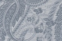 6798817 SIVAS SLATE BLUE Paisley Damask Upholstery And Drapery Fabric