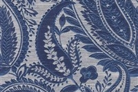 6798818 SIVAS MIDNIGHT Paisley Damask Upholstery And Drapery Fabric