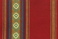 6801712 SANDOVAL SERAPE DDR-05 CHILI Stripe Jacquard Upholstery And Drapery Fabric