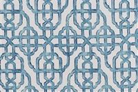 Lacefield Designs IMPERIAL SEASIDE Lattice Print Upholstery And Drapery Fabric