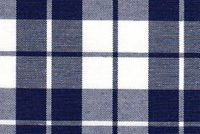 6807419 LARGO NAVY Plaid Upholstery And Drapery Fabric