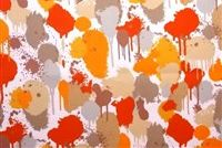 Swavelle Mill Creek NEDDICK/FRESCO ORANGE POP Tropical Indoor Outdoor Upholstery Fabric
