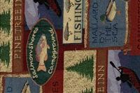 6813612 R-PINETREE INN SKY Lodge Tapestry Fabric