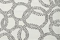 Bella-Dura HANSEL WHITE/GREY Dot and Polka Dot Indoor Outdoor Upholstery Fabric