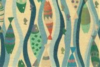 6817713 R-MINI WAHOO SEA Tropical Jacquard Fabric