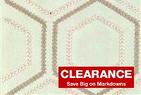 P Kaufmann SEW BE IT 008 PEARL Lattice Embroidered Drapery Fabric