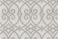Trend 02968 DOVE GRAY Lattice Linen Blend Fabric