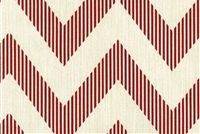 Magnolia Home Fashions CHEVY RED Contemporary Print Upholstery And Drapery Fabric