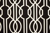 Magnolia Home Fashions DECO ONYX Lattice Print Fabric