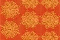 6840814 MOORE PUMPKIN Floral Crypton Commercial Fabric