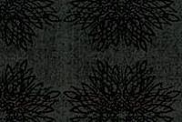6840820 MOORE BLACK Floral Crypton Commercial Fabric