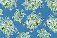 Tommy Bahama Home TRANQUIL TURTLES PENINSULA Tropical Print Fabric