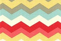Waverly SNS PANAMA WAVE PEACHTINI 677640 Contemporary Indoor Outdoor Upholstery Fabric