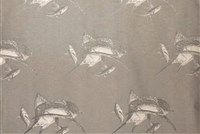 6848713 INTRUDER FISH GREY 10 Nautical Jacquard Fabric