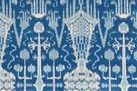 Lacefield Designs BOMBAY COBALT Ikat Print Fabric