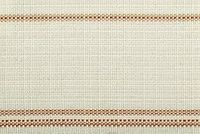 Bella-Dura TICKING MANGO Stripe Indoor Outdoor Upholstery And Drapery Fabric