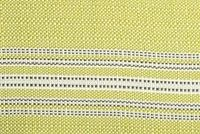 Bella-Dura TICKING KEYLIME Stripe Indoor Outdoor Upholstery And Drapery Fabric
