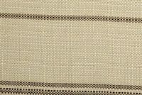 Bella-Dura TICKING WALNUT Stripe Indoor Outdoor Upholstery And Drapery Fabric