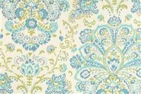 Magnolia Home Fashions PROVENCE OCEAN Floral Print Upholstery And Drapery Fabric