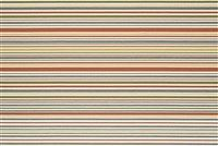 Robert Allen KEY BAND RR BK CORAL Stripe Crypton Home Fabric