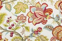 Robert Allen JACOBEAN SWAG CORAL Floral Crypton Home Fabric