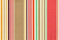 P Kaufmann NAUTICAL STRIPE RED SNAPPER Stripe Print Upholstery And Drapery Fabric