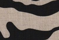 6879312 WILDER BLACK Linen Fabric