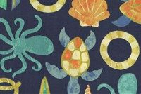 Swavelle Mill Creek SEAPOINT/FRANCO NEPTUNE Tropical Indoor Outdoor Upholstery Fabric