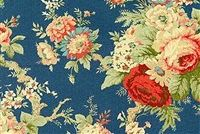 Waverly SANCTUARY ROSE HERITAGE 678001 Floral Print Upholstery And Drapery Fabric