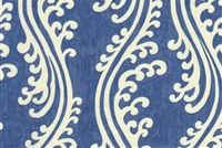 Waverly TURNING TIDES INDIGO 678423 Contemporary Print Upholstery And Drapery Fabric