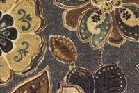 Iman Home JAVANESE GARDEN SEPIA 110240 Floral Print Fabric