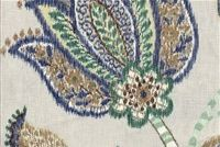 P Kaufmann GLOBAL STYLE/MET 003 BREEZE Floral Linen Fabric