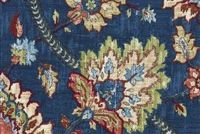 Waverly CLIFTON HALL GEM 678353 Floral Linen Blend Fabric