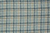 Bella-Dura AMUNDSEN BLUE/TAN Check / Plaid Indoor Outdoor Upholstery Fabric
