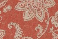 Covington SD-DOMINICA 73 ROSE RED Floral Indoor Outdoor Upholstery Fabric