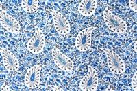 Waverly PAISLEY VERVEINE BLUEJAY 678773 Floral Print Fabric
