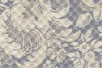 P/K Lifestyles DISTINCTLY DAMASK SHALE 404320 Floral Matelasse Upholstery And Drapery Fabric
