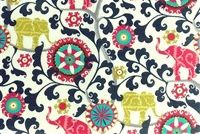 P/K Lifestyles PKL OD MENAGERIE SPECTRUM 404272 Floral Indoor Outdoor Upholstery Fabric