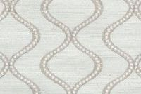 Waverly COSMIC WAY EMB PLATINUM 653770 Contemporary Embroidered Drapery Fabric