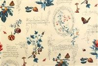 P Kaufmann FRESH CUTTINGS 003 CHAMPAGNE Floral Print Upholstery And Drapery Fabric