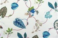 P Kaufmann CREEPING VINE 004 OFF WHITE Floral Print Fabric