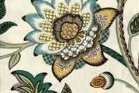 P Kaufmann DREAM CATCHER/MET 003 NILE Floral Linen Fabric