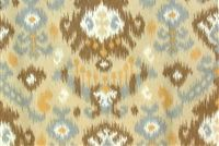 Magnolia Home Fashions BLURRED LINES DUSK Ikat Print Upholstery And Drapery Fabric