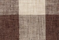 P Kaufmann CHECK PLEASE 875 JAVA Buffalo Check Upholstery And Drapery Fabric
