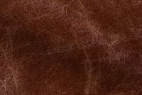 Carroll Leather GALVESTON SANDLEWOOD Furniture Genuine Leather Hide Upholstery