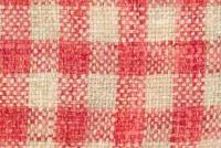 P Kaufmann ZIPPY 607 CORAL Check Upholstery And Drapery Fabric