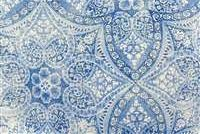 P Kaufmann ODL ALFRESCO 005 AZURE Floral Indoor Outdoor Upholstery Fabric